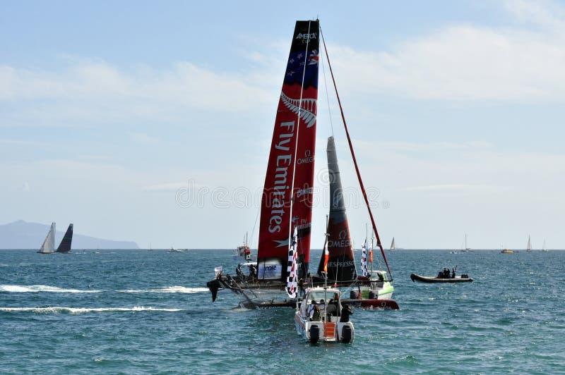 New Zeland Team Win stock photos