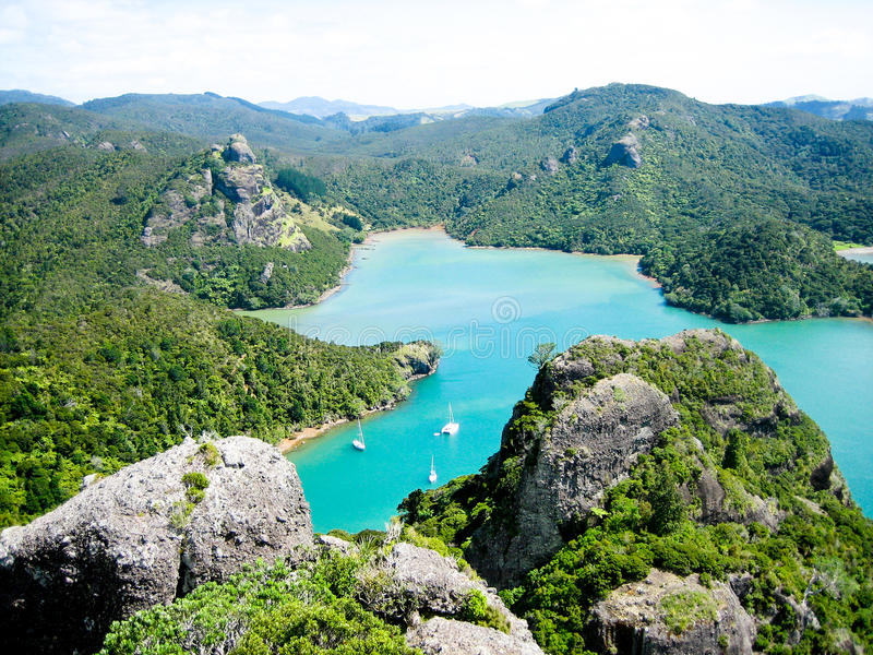 New Zeland Waters royalty free stock image