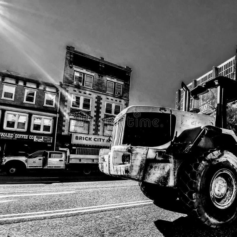 Newark arbeten arkivfoto