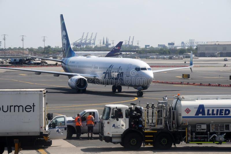 Newark Liberty International Airport imágenes de archivo libres de regalías