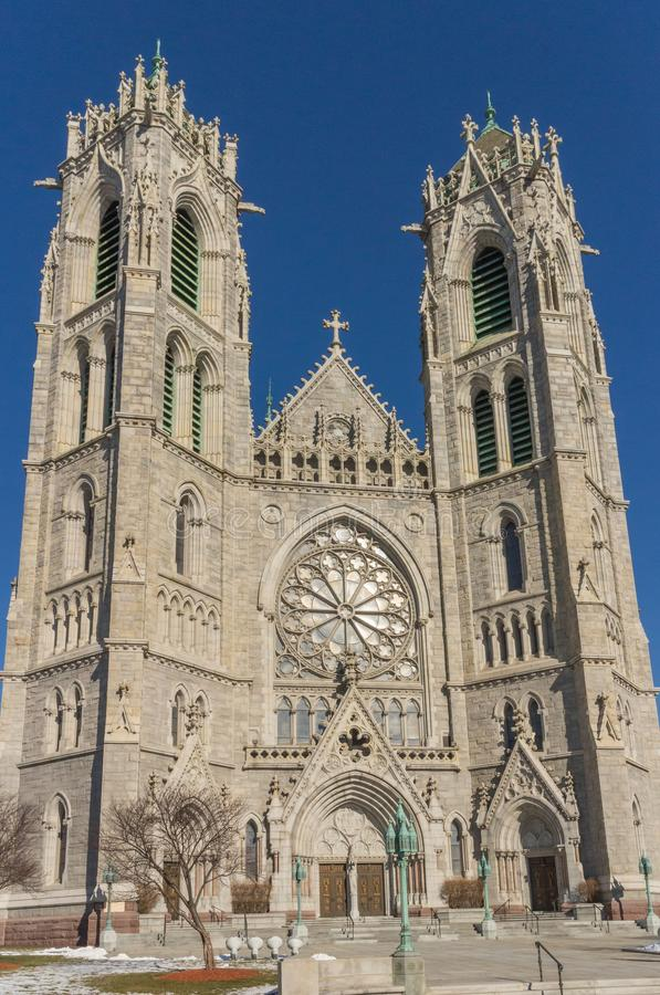 Cathedral Basilica of the Sacred Heart royalty free stock image