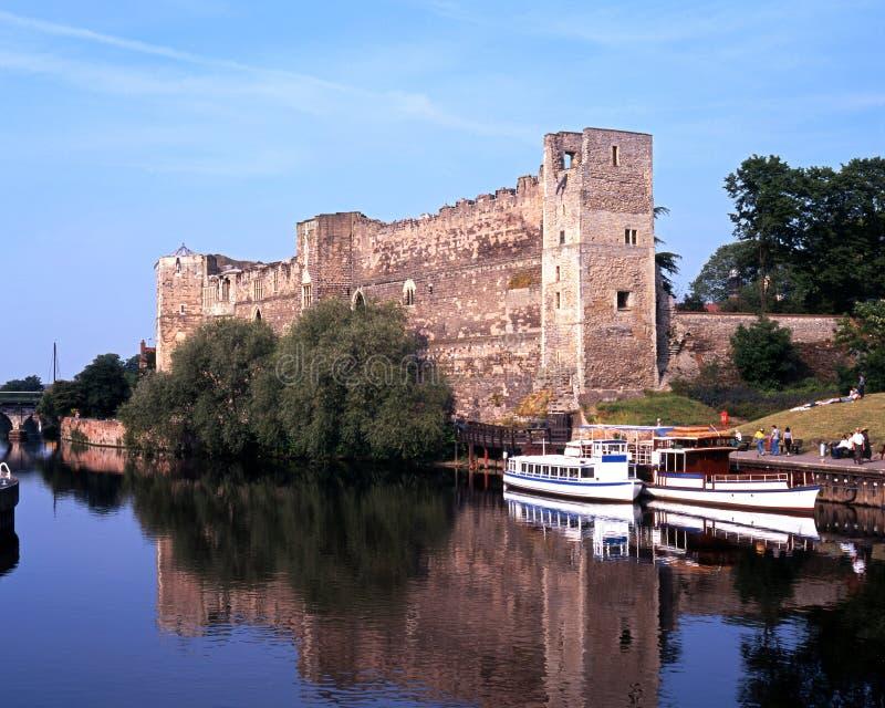 Newark slott royaltyfria foton