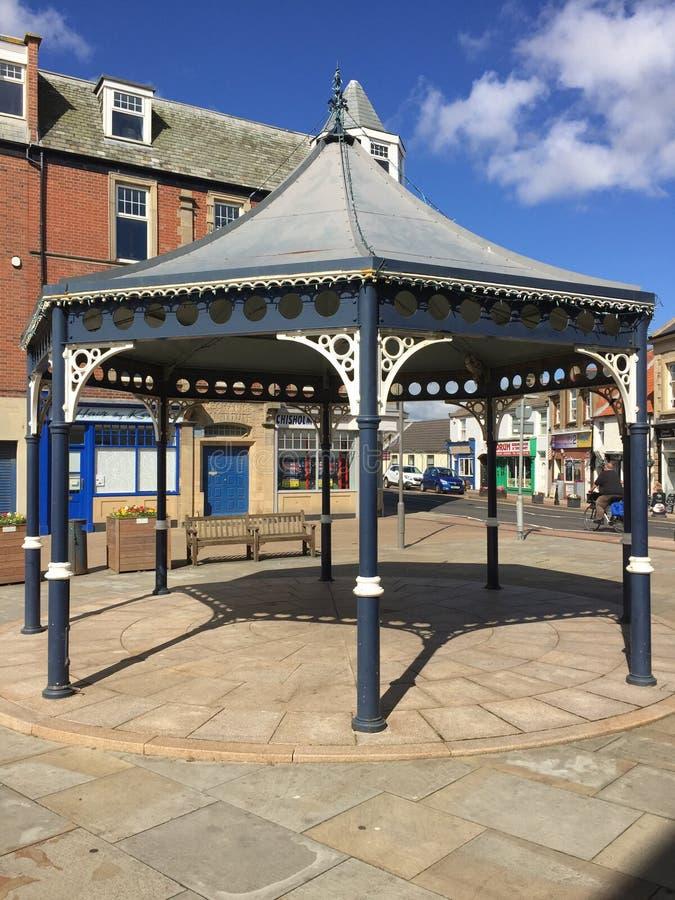 Newbiggin bandstand obraz royalty free