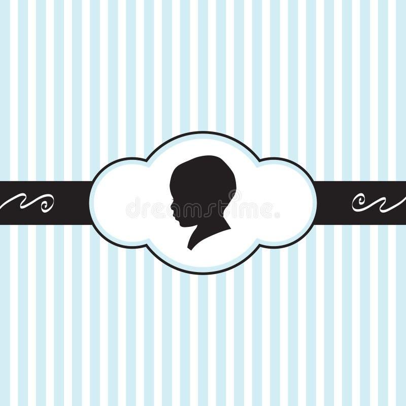 Download Newbord Greetings stock vector. Image of kids, birth - 21781349