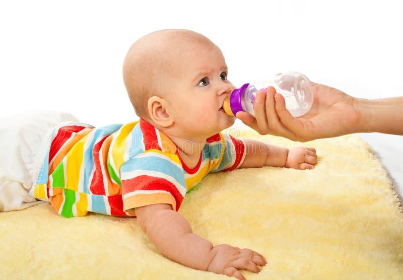 Download Newborn stock image. Image of childhood, beauty, bottle - 23376449