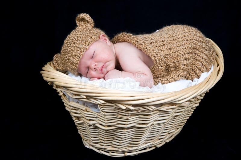 Newborn baby boy royalty free stock images