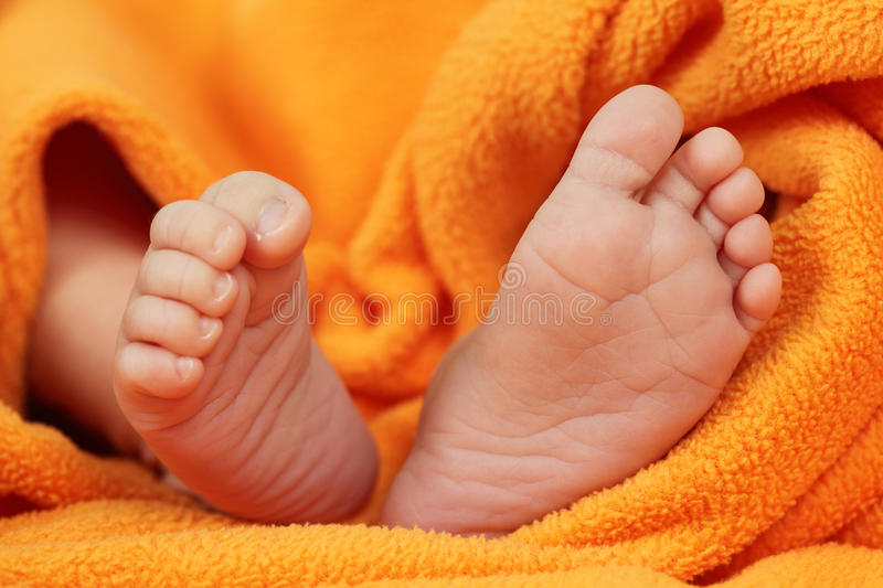 Download Newborn Baby Feet Stock Images - Image: 16455434