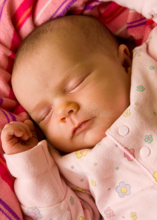 Download Newborn baby sleeping stock photo. Image of small, innocence - 9524850
