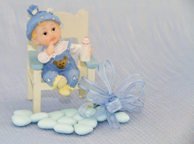 Newborn boy stock images