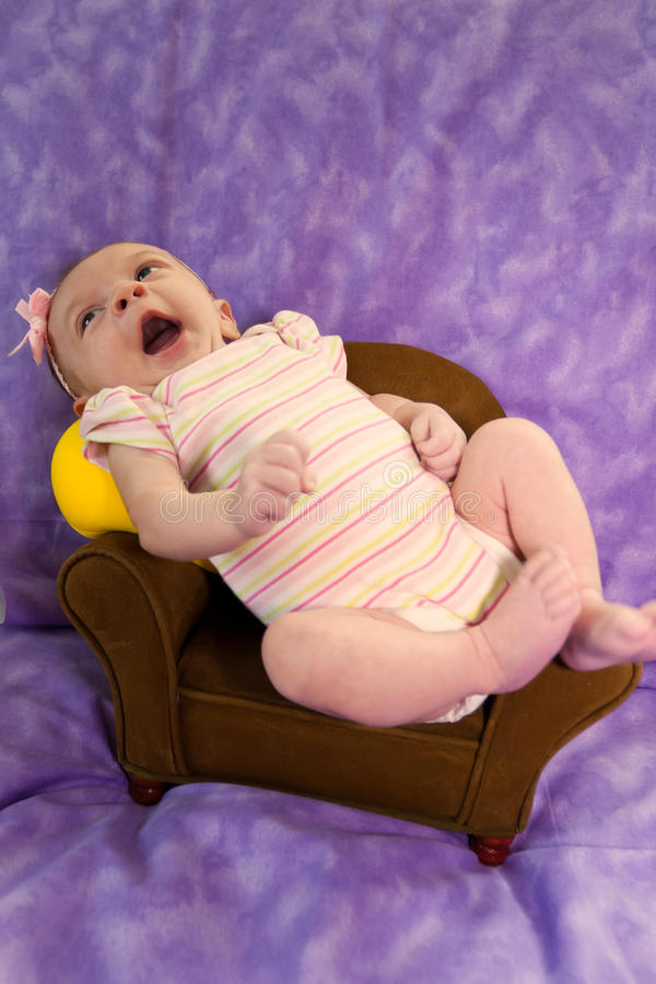 Download Newborn In Chair Royalty Free Stock Photos - Image: 20647868