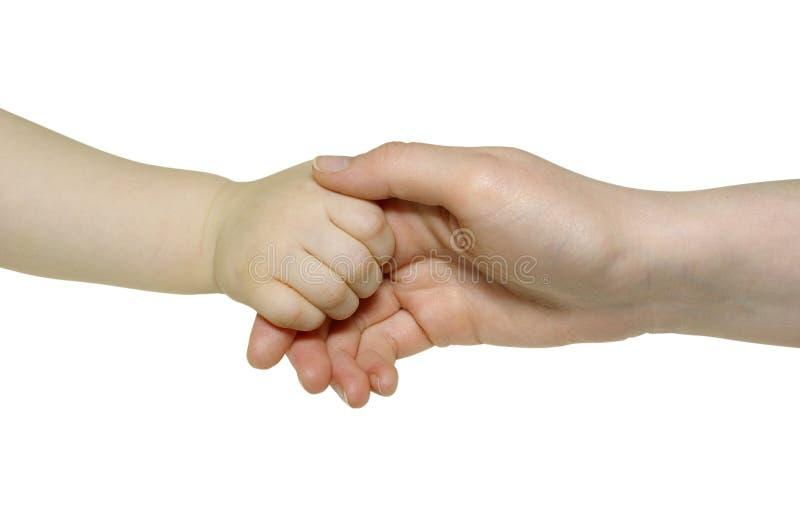 Newborn Hand Royalty Free Stock Photo