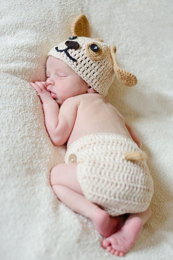 Newborn's dreams royalty free stock photos