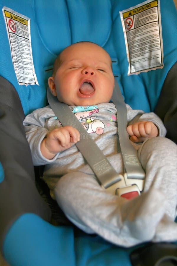 Newborn safety car seat stock photo. Image of beautiful - 21363538