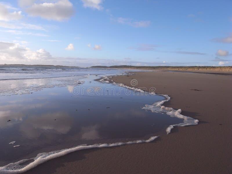 Download Newborough beach. stock photo. Image of landscape, holidays - 25566122