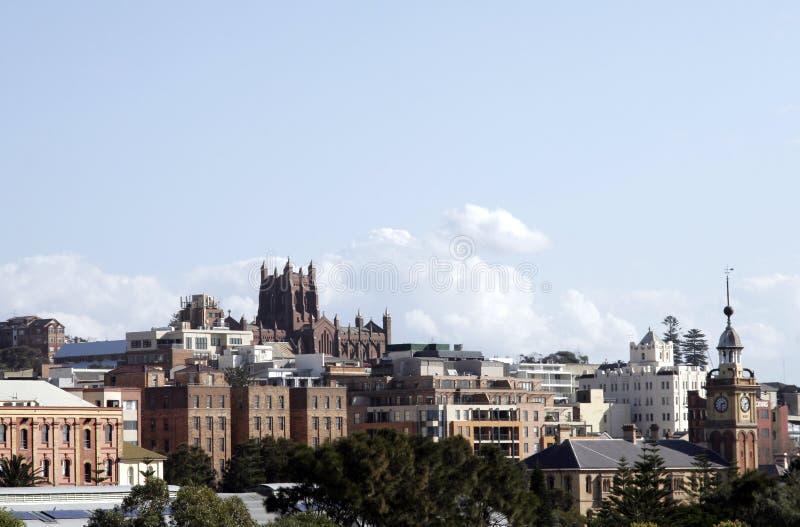newcaslte miasta. fotografia stock