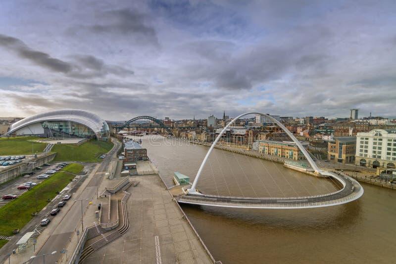 Newcastle stockbilder