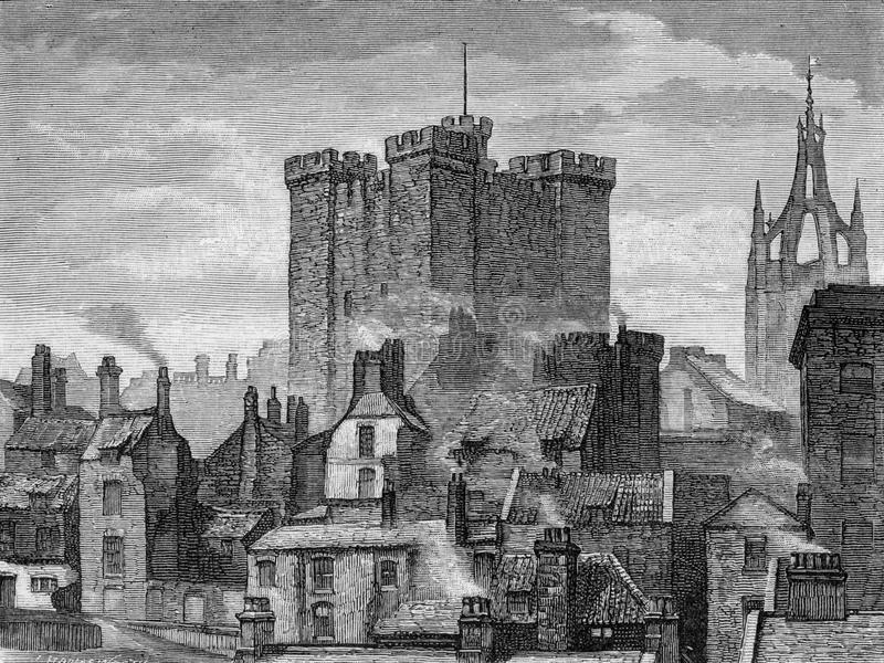 Newcastle royalty free illustration
