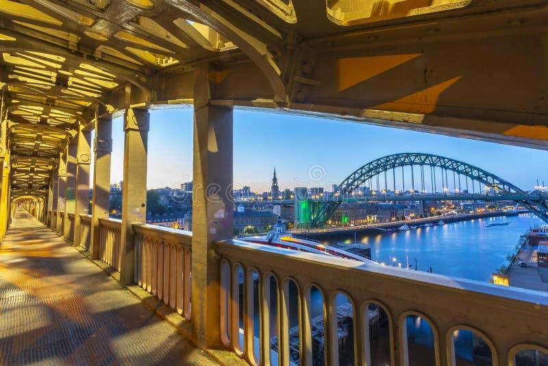 Newcastle em cima de Tyne, de Tyne e de desgaste, Inglaterra imagem de stock