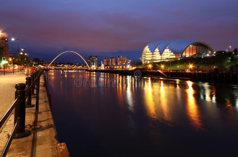 Newcastle nach Tyne lizenzfreie stockfotografie