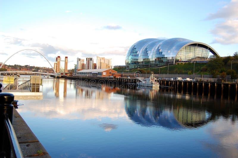 Newcastle nach Tyne lizenzfreies stockbild