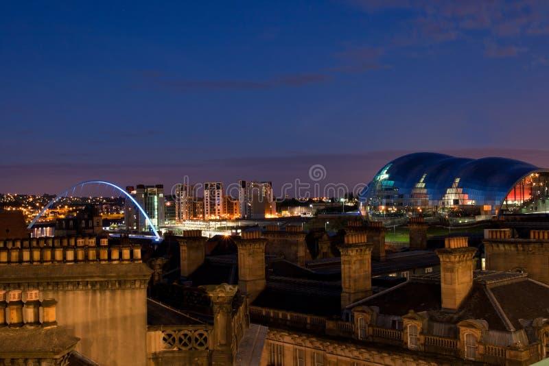 Newcastle nach Tyne stockfotos