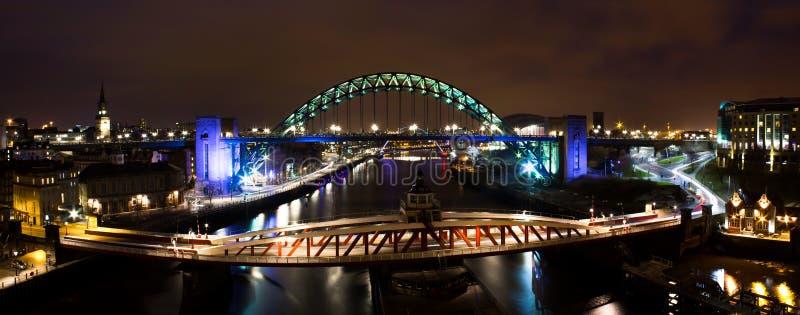 Newcastle op de Tyne stock foto
