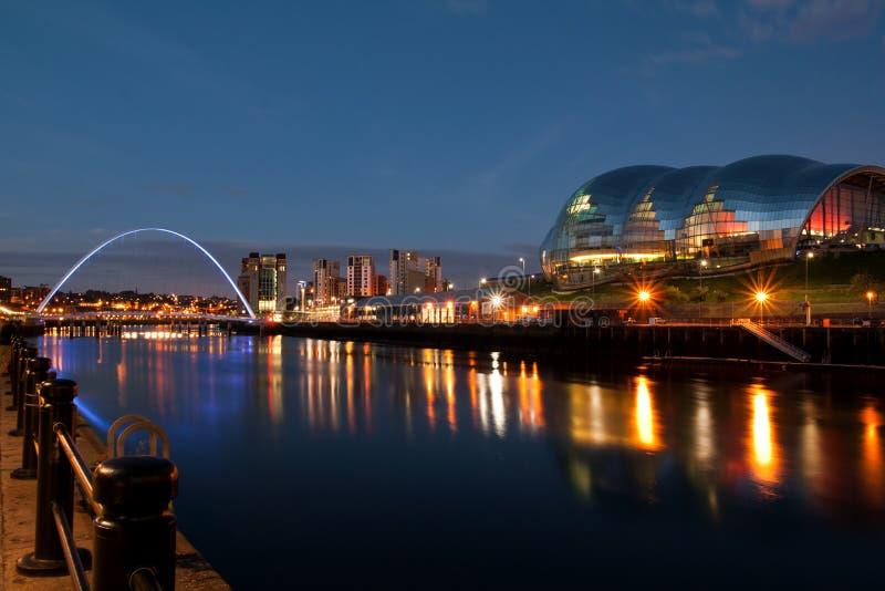 Newcastle på Tyne royaltyfria bilder