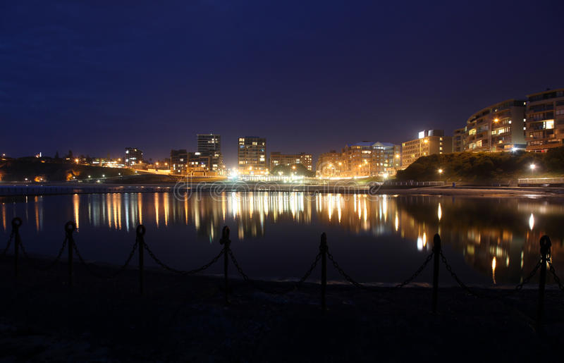 Newcastle plaża - Australia obraz royalty free