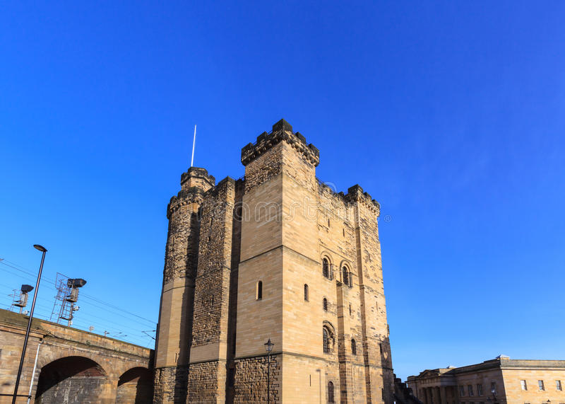 Newcastle-Schloss lizenzfreie stockfotografie