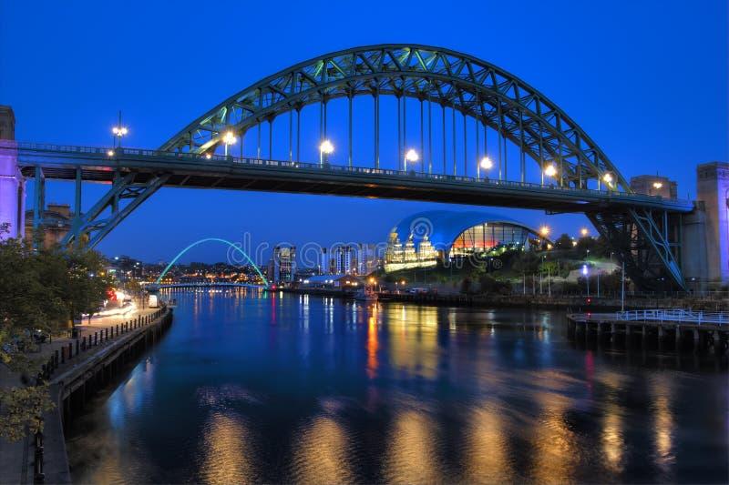 Newcastle Tyne Bridge photographie stock libre de droits