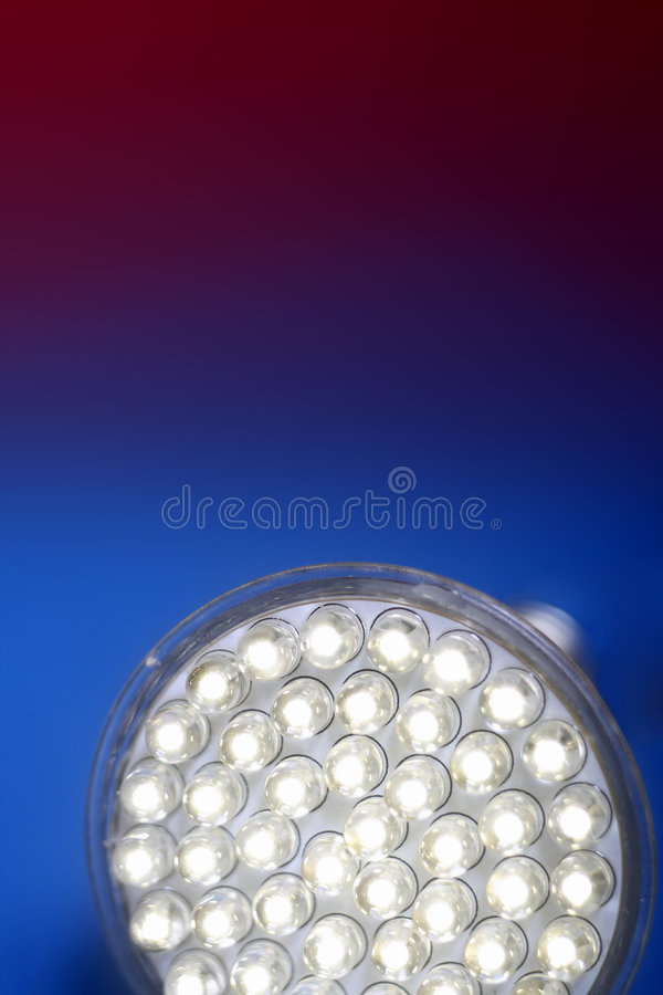 Newest LED light bulb stock photos