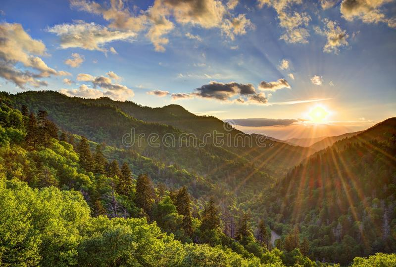 Newfound Gap obrazy royalty free