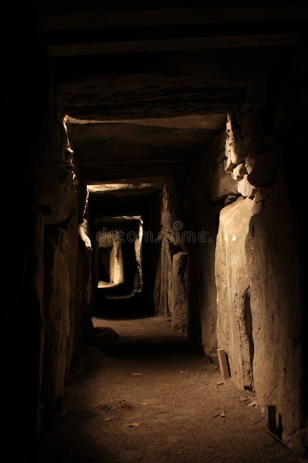 Newgrange и Knowth - места каменного века стоковое фото rf