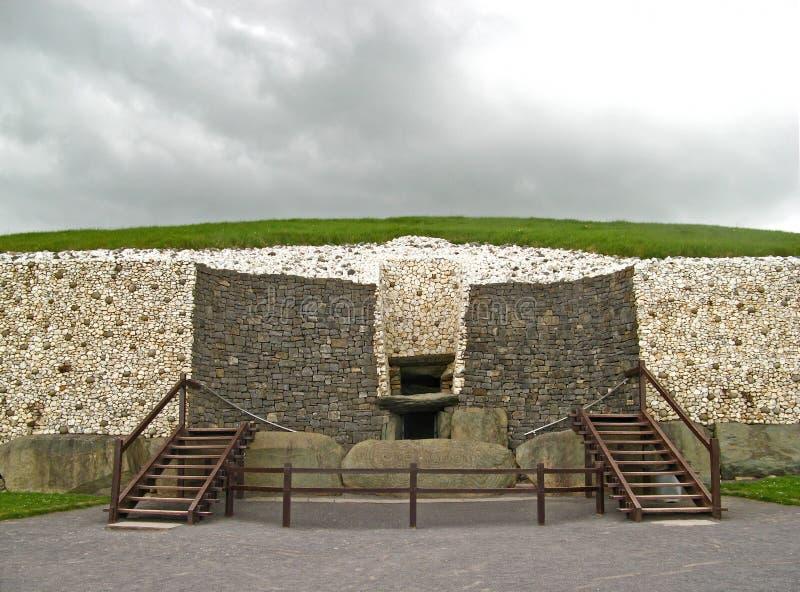 Newgrange 01 fotografia de stock royalty free