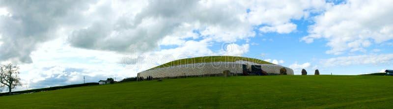 Newgrange royalty-vrije stock afbeeldingen