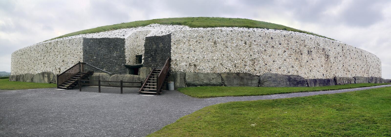 Newgrange stock foto