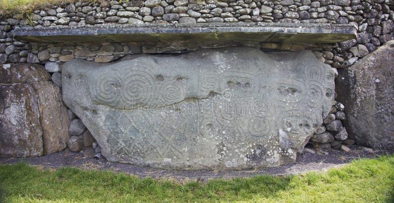 Newgrange στοκ φωτογραφίες