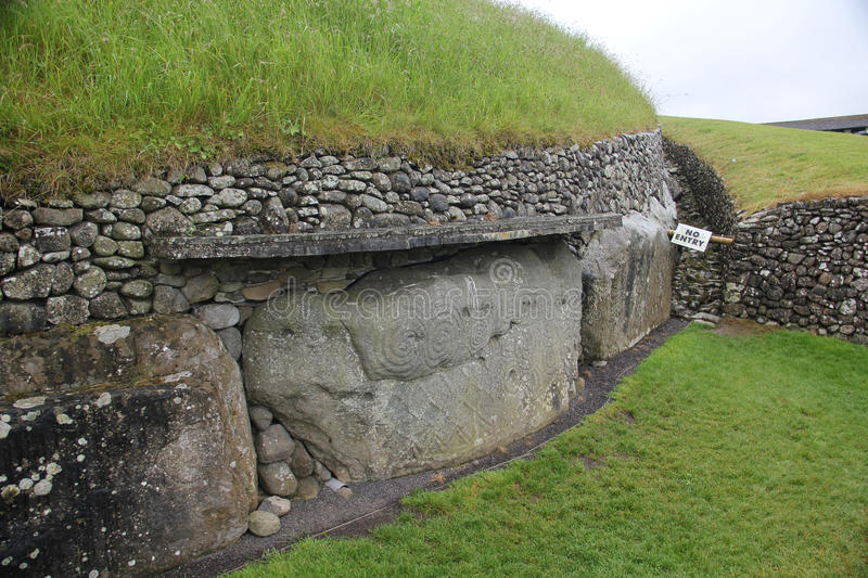 Newgrange, Irlande photos stock