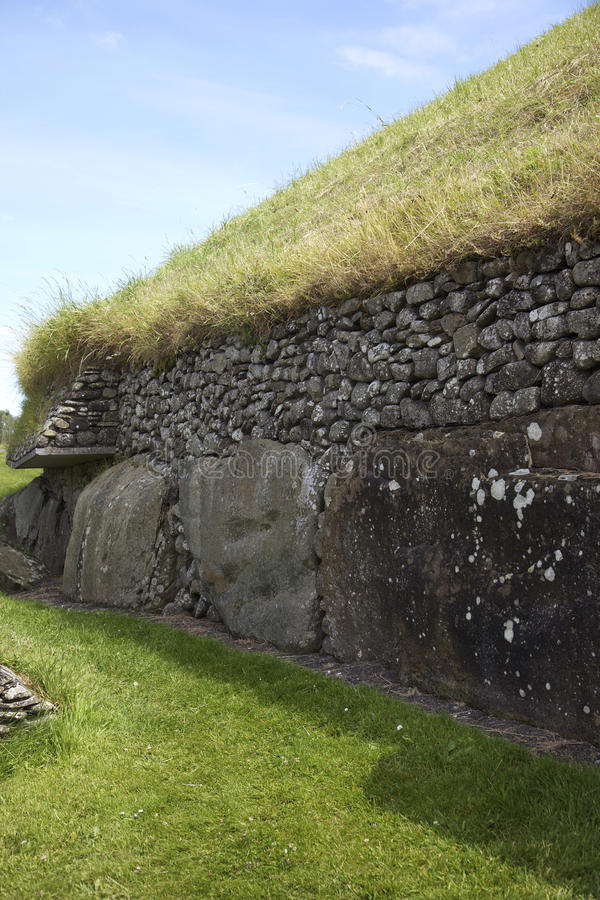 Newgrange royalty free stock photography