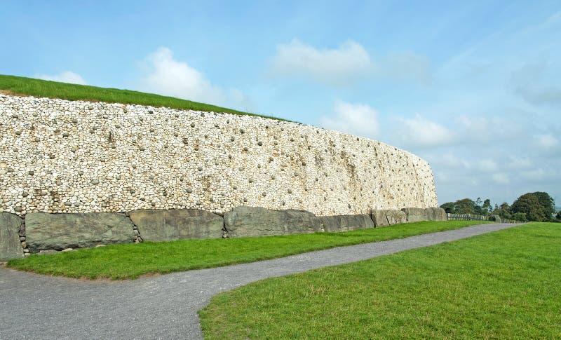 Newgrange w Boyne dolinie obraz royalty free