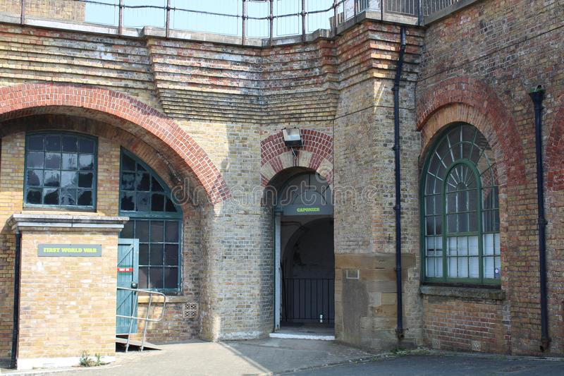 Newhaven Fort Newhaven east sussex royalty free stock image