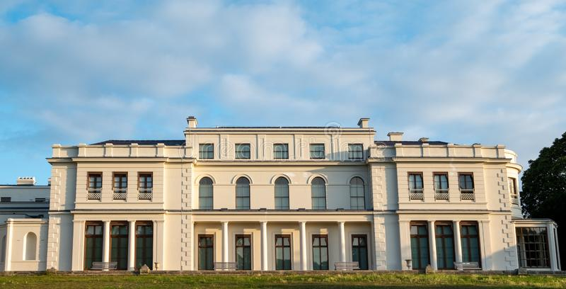 Newly renovated Gunnersbury Park and Museum on the Gunnersbury Estate, London UK, once owned by the Rothschild family. Newly renovated Gunnersbury Park and royalty free stock image