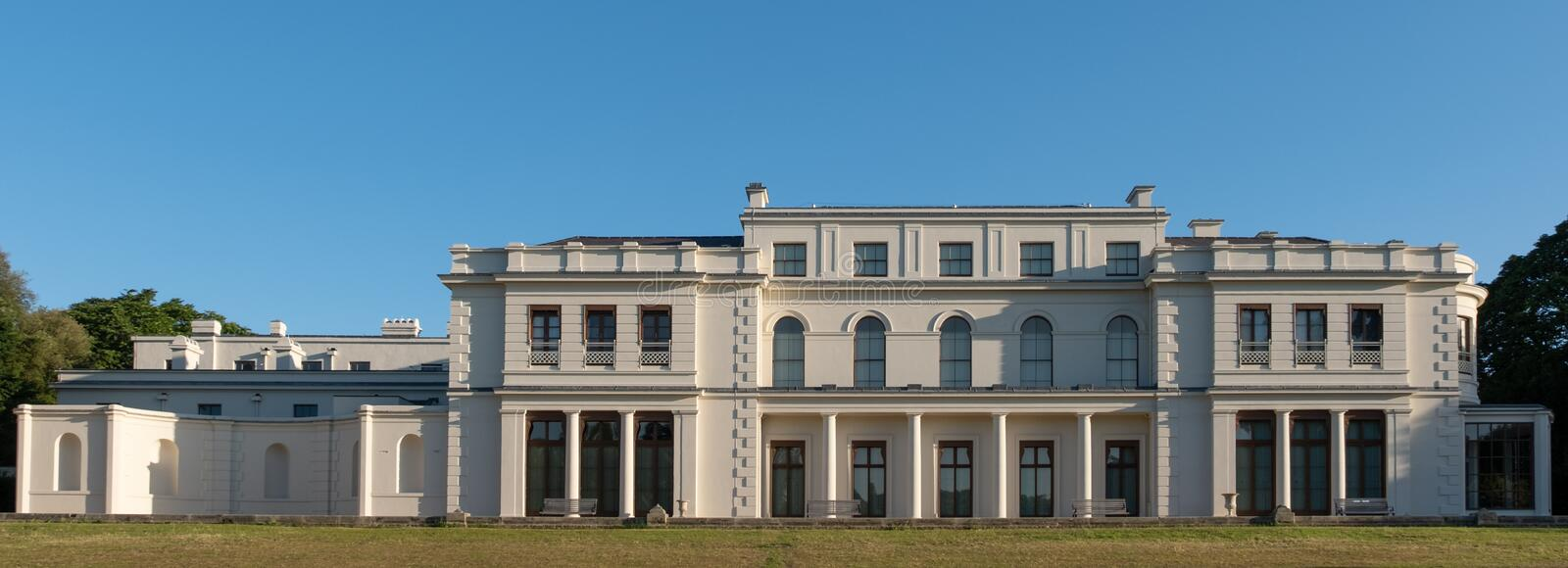 Newly renovated Gunnersbury Park and Museum on the Gunnersbury Estate, once owned by the Rothschild family, London UK. Newly renovated Gunnersbury Park and royalty free stock photos