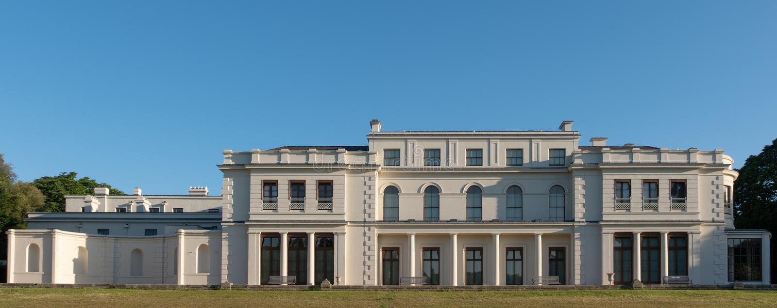 Newly renovated Gunnersbury Park and Museum on the Gunnersbury Estate, once owned by the Rothschild family, London UK. Newly renovated Gunnersbury Park and royalty free stock photography