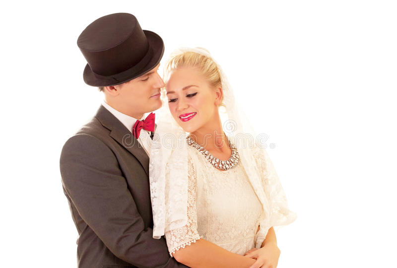 Download Newly wed couple stock image. Image of fresh, emotion - 23489635