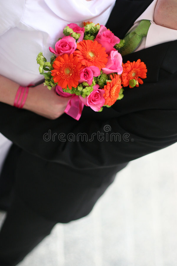 Newly weds stock photos