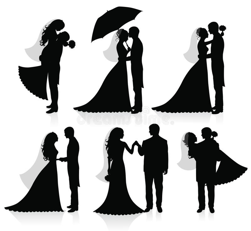 Download Newlywed. stock vector. Illustration of flirting, newlywed - 10788480