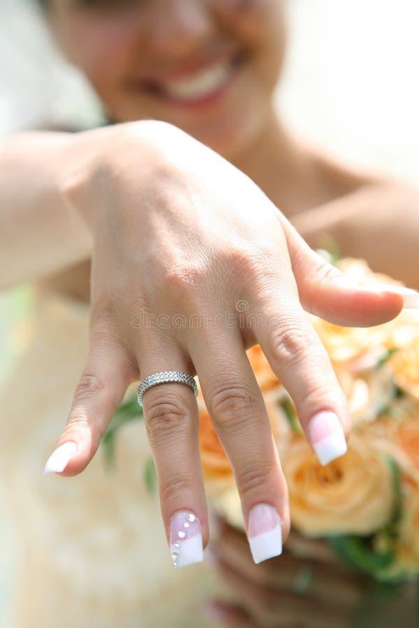 Download Newlywed stock image. Image of fingernail, beautiful, golden - 8883357