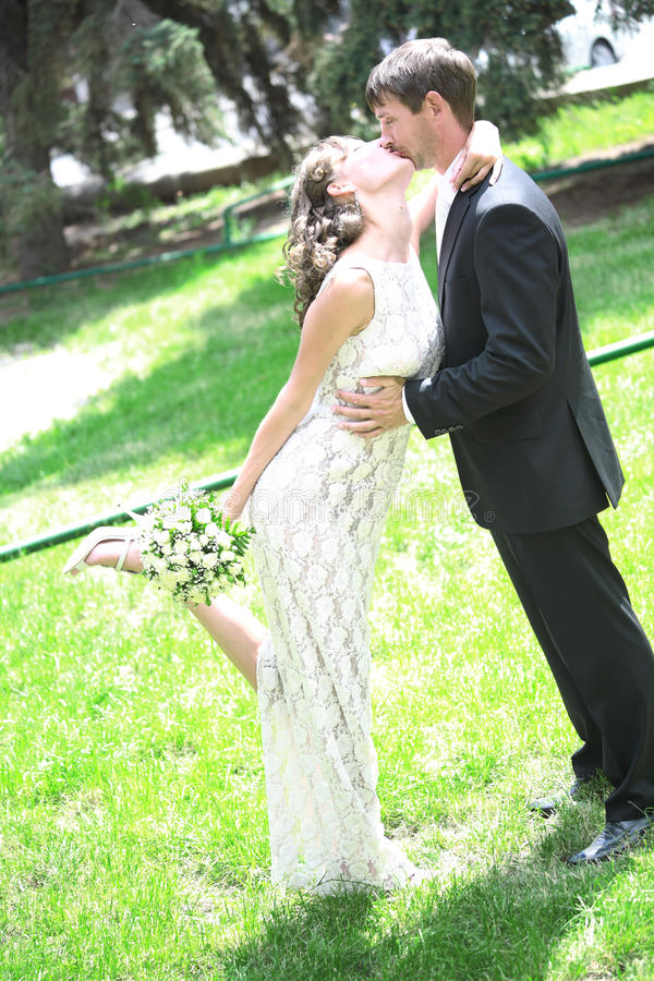 Download Newlywed couple in love stock photo. Image of people - 12114904