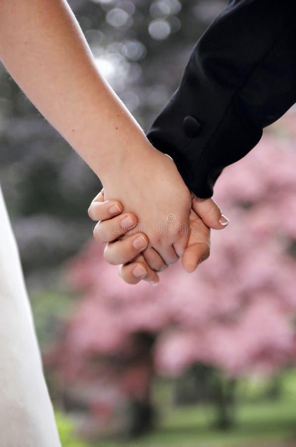 newlyweds από κοινού στοκ φωτογραφίες